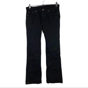 Lucky Brand jeans black Lil Maggie Sz 4 /27
